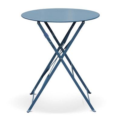 Table de jardin metallique   La Redoute