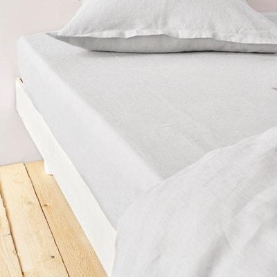 100% Linen Fitted Sheet 100% Linen Fitted Sheet La Redoute Interieurs