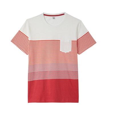 T-shirt rayé à col rond La Redoute Collections