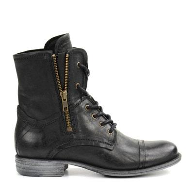 En Femme SoldeLa Redoute Boots Cognac cFlKT1J