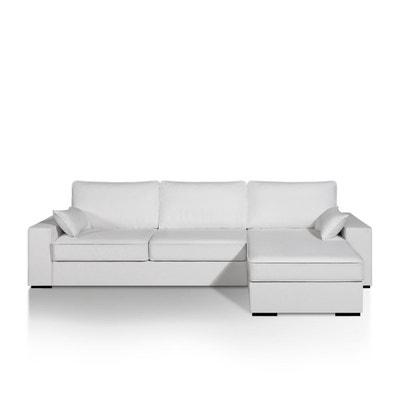 Canapé d'angle lit, simili, bultex, Cécilia La Redoute Interieurs