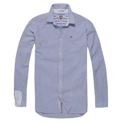 Chemise  droite à rayures, manches longues Chemise  droite à rayures, manches longues HI AND FLY