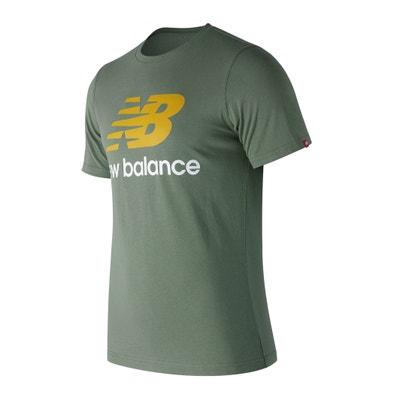 T-shirt con scollo rotondo maniche corte T-shirt con scollo rotondo maniche corte NEW BALANCE