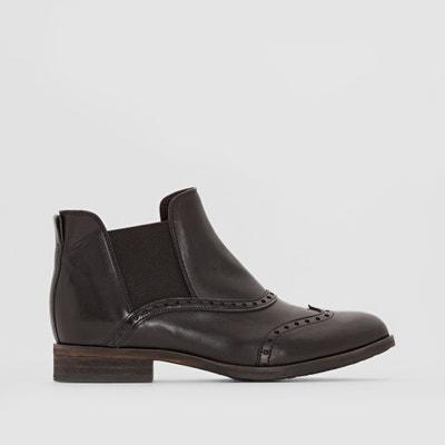 Boots in leer, Solvi DKODE