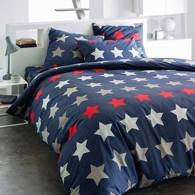 Capa de edredron em algodão STARS Capa de edredron em algodão STARS La Redoute Interieurs