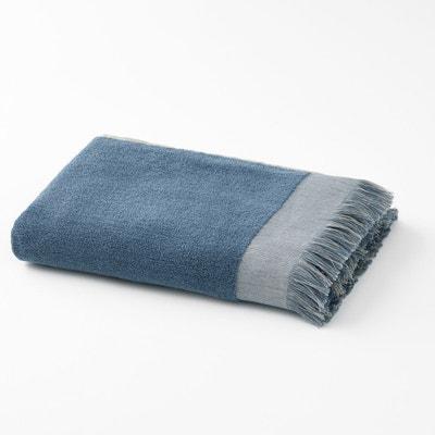 Serviette éponge en coton frangée HAMMAM Serviette éponge en coton frangée HAMMAM La Redoute Interieurs