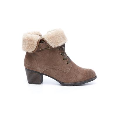Boots in leer Margarida HUSH PUPPIES