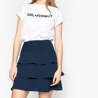 Plain Short Skater Skirt VERO MODA