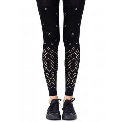 Legging Grafic Noir 120D BELLE EN COLLANT