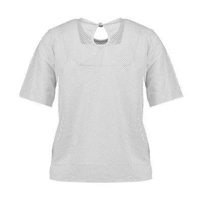 T-shirt col rond manches courtes BLUE INC