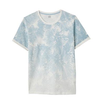 T-shirt imprimé, col rond La Redoute Collections