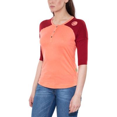 Highball - T-shirt manches longues Femme - orange/rouge EDELRID
