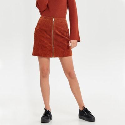 Leather Straight Short Skirt Leather Straight Short Skirt ONLY