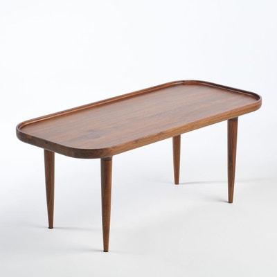 Table basse noyer massif Magosia, petit modèle Table basse noyer massif Magosia, petit modèle AM.PM