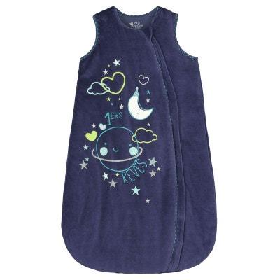 Gigoteuse d'hiver en velours bleu Pyjama Party Gigoteuse d'hiver en velours bleu Pyjama Party PETIT BEGUIN