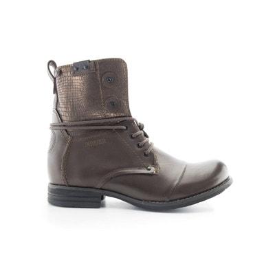 Boots cuir Tar BUNKER