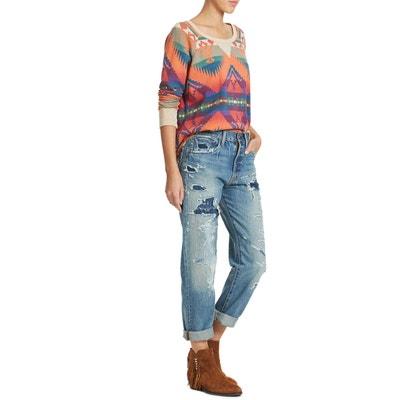 Jeans Denim&supply 5pt High Rise Bf Boyfriend Bleu Femme DENIM AND SUPPLY RALPH LAUREN