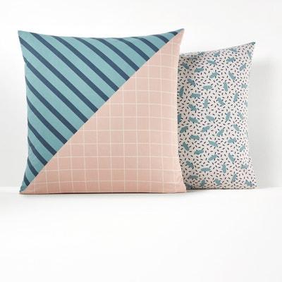 MOONLIGHT Printed Cotton Pillowcase MOONLIGHT Printed Cotton Pillowcase La Redoute Interieurs