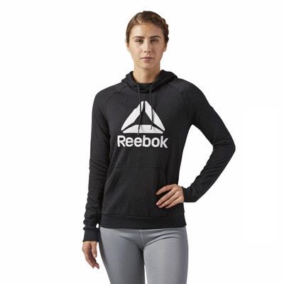 Felpa con cappuccio con Logo Felpa con cappuccio con Logo REEBOK