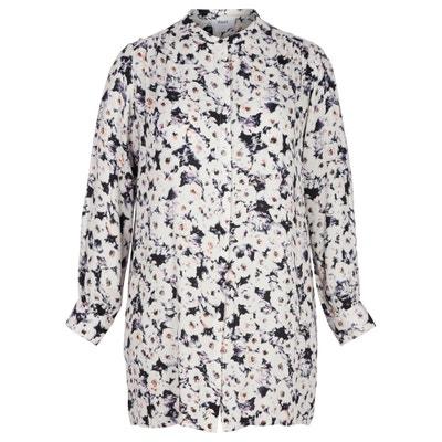Рубашка с цветочным рисунком, длинные рукава Рубашка с цветочным рисунком, длинные рукава ZIZZI