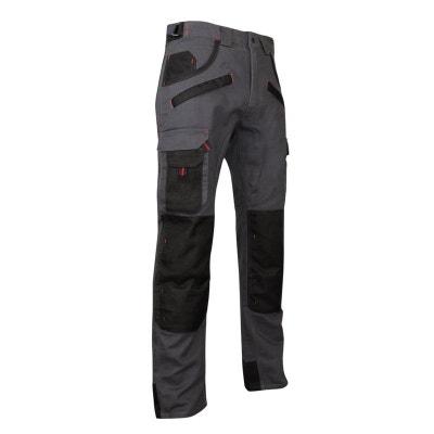 Pantalon de travail bicolore avec poches genouilléres ARGILE Pantalon de travail bicolore avec poches genouilléres ARGILE LMA