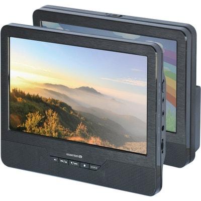 Lecteur DVD portable double écran ESSENTIELB Mobili MM9 + Support Voiture ESSENTIEL B
