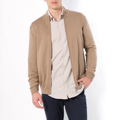 Gilet zippé, pur coton Gilet zippé, pur coton CASTALUNA FOR MEN
