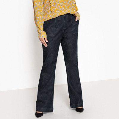 Robe en jean pour femme ronde