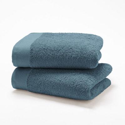 Lot serviettes de toilette 500g/m² SCENARIO Lot serviettes de toilette 500g/m² SCENARIO La Redoute Interieurs