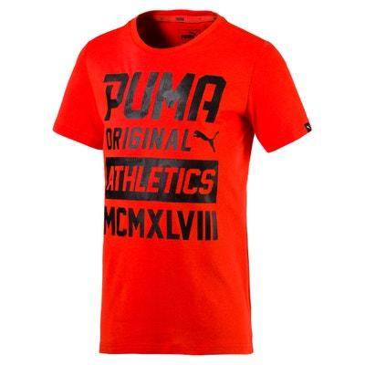 T-shirt de gola redonda, mangas curtas PUMA