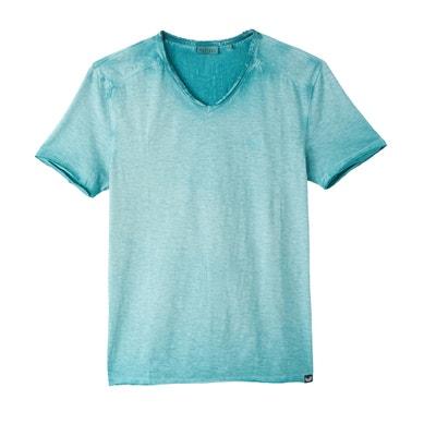 T-shirt com decote em V, mangas curtas T-shirt com decote em V, mangas curtas KAPORAL 5