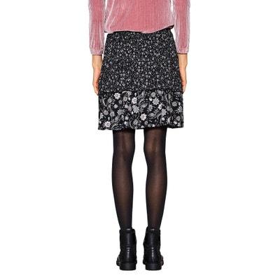 Floral Print Short Skirt. ESPRIT