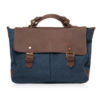 Cartable femme cuir et TOILE - Modèle MOOREA OH MY BAG