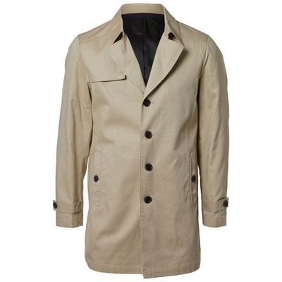 Manteau beige clair homme