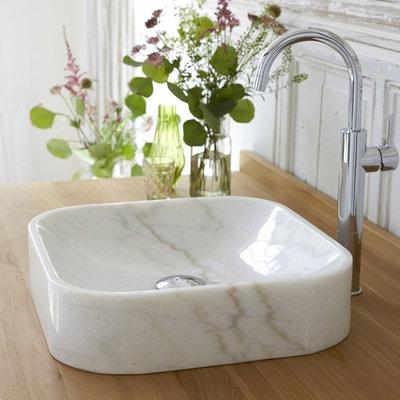 Vasque De Salle Bain En Marbre Perseus White