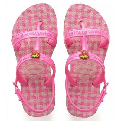Tongs, mules fille - Chaussures enfant 3-16 ans en solde   La Redoute 6be808a132a4