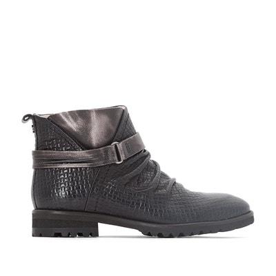 Boots cuir Seven Boots cuir Seven DKODE