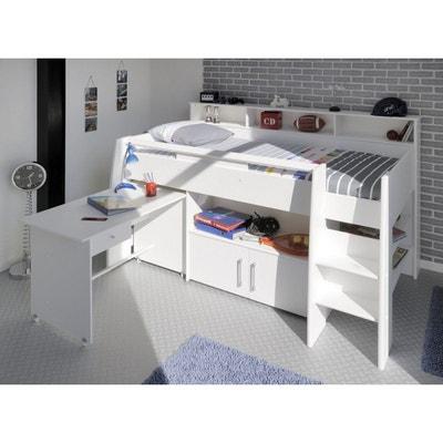 lit enfant combin blanc megve lit enfant combin blanc megve - Lit Combine Enfant