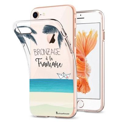 Coque Souple iPhone 7 iPhone 8 souple transparente Bronzage à la française, La Coque Francaise® Coque Souple iPhone 7 iPhone 8 souple transparente Bronzage à la française, La Coque Francaise® LA COQUE FRANCAISE