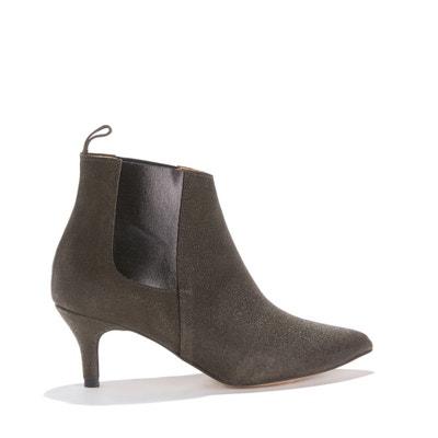 Boots à talon, cuir de veau LAURAL GLITTER Boots à talon, cuir de veau LAURAL GLITTER ANONYMOUS COPENHAGEN