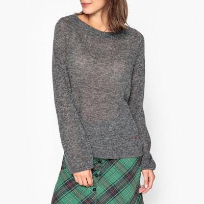 Пуловер с круглым вырезом из тонкого трикотажа MAYONESSOU Пуловер с круглым вырезом из тонкого трикотажа MAYONESSOU LEON and HARPER