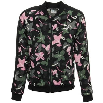 Veste coupe droite imprimé floral PUMA