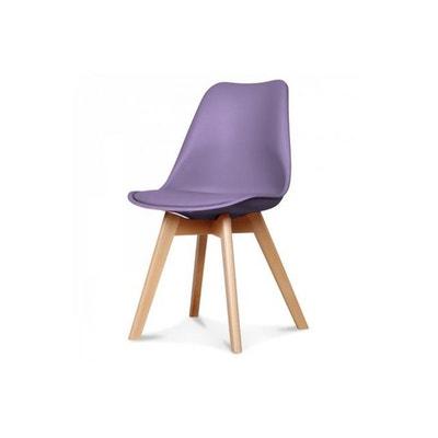 chaise scandinave lilas esben declikdeco - Chaises Scandinave Pas Cher