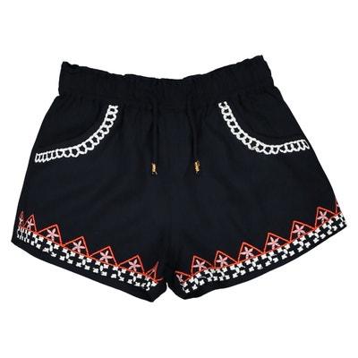 Shorts con ricamo 1 mese-3 anni Shorts con ricamo 1 mese-3 anni La Redoute Collections