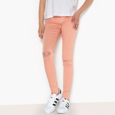 Pantalon skinny déchiré 10-16 ans La Redoute Collections