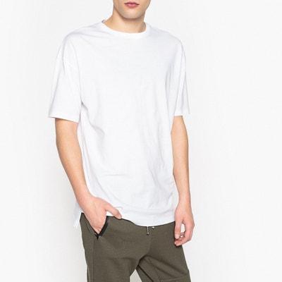 T-shirt de gola redonda, Oeko Tex, corte largo T-shirt de gola redonda, Oeko Tex, corte largo La Redoute Collections