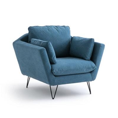 fauteuil coton bristal fauteuil coton bristal la redoute interieurs - Fauteuil En Tissu