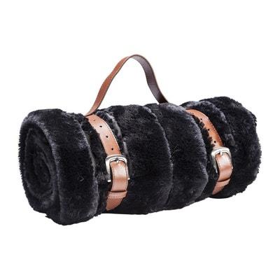 Plaid Fur Stripes fourrure noire 150x200cm Kare Design Plaid Fur Stripes fourrure noire 150x200cm Kare Design KARE DESIGN