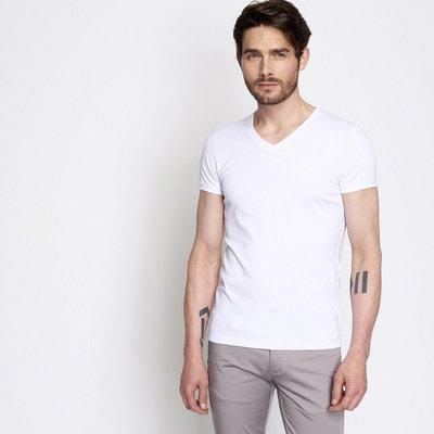 dfd290284bf5e Tee shirt manches courtes homme basic DEVRED