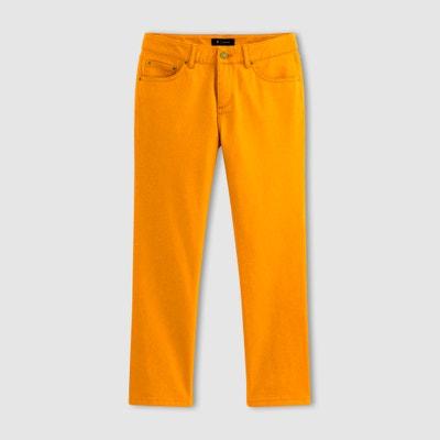 Calças curtas, corte 5 bolsos, algodão stretch Calças curtas, corte 5 bolsos, algodão stretch La Redoute Collections